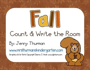 Fall Count and Write the Room