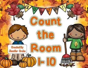Fall Count the Room 1-10