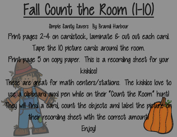 Fall Count the Room
