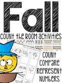 Fall Count the Room (Numbers 1-20)