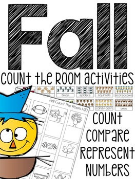 Fall Count the Room (3 Differentiated Activities)