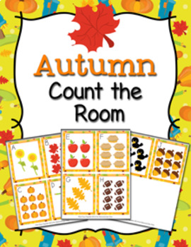 Fall Count the Room Activity