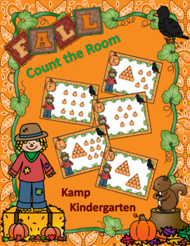 Fall Count the Room FREEBIE
