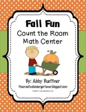 Fall Count the Room Math Center