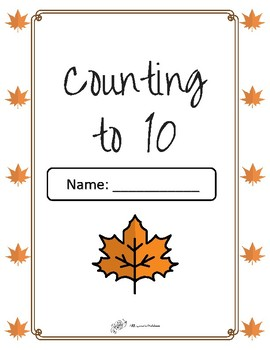 Fall Count to 10 Booklet