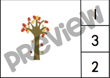 Fall Counting 1-20