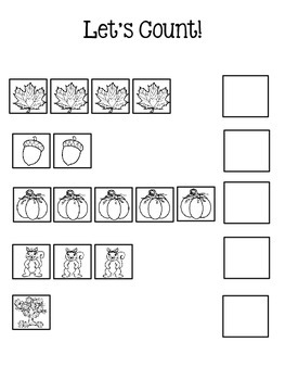 Fall Counting 1-5