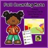 Fall Counting Activity: Counting Mats