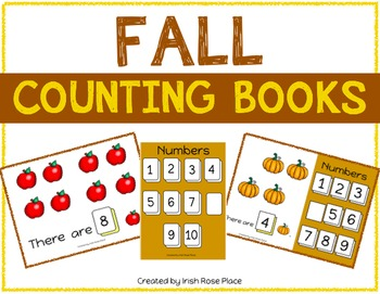 Fall Counting Books (Adapted Books)