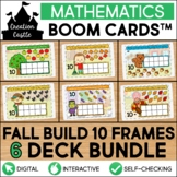 Fall Counting Boom Cards™ Bundle | Ten Frames 1-10