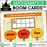 Fall Counting Boom Cards™ | Number Words 1-10