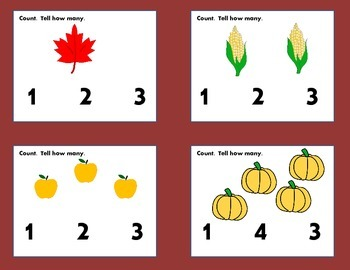 Fall Counting Cards