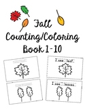 Fall Counting Book