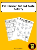 Fall Counting (Cut and Paste Activity)