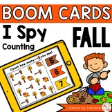 Fall Counting Digital Game Boom Cards