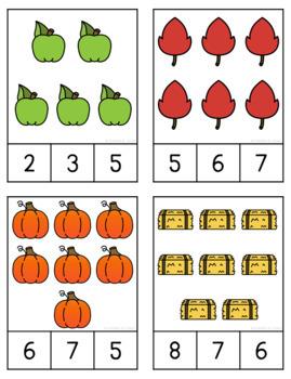 Fall Counting Fun (1-20)