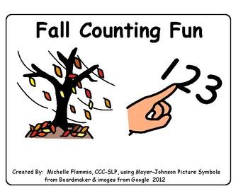 Fall Counting Fun