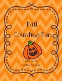 Fall Counting Fun Math Center