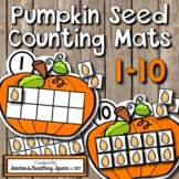 Fall Counting Mats 1-10 --- Pumpkin Counting Mats with Tens Frames