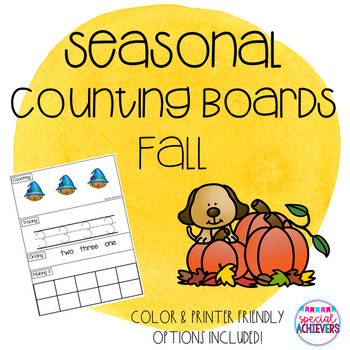 Fall Counting Boards