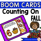 Fall Counting On Addition Digital Game Boom Cards