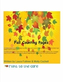 Fall Counting Pages