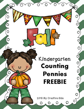 Fall Counting Pennies Freebie
