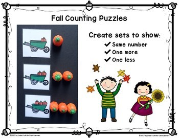 Fall Counting Puzzles and Counting Mats 0-10