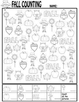 Fall Counting Sheet