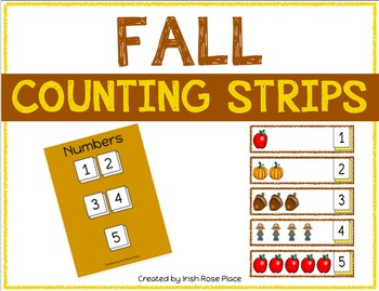 Fall Counting Strips