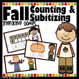 Fall Counting & Subitizing - PowerPoint Games