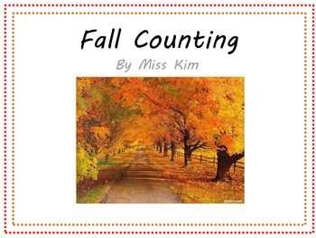 Fall Counting adapted book