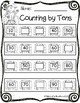 Fall Counting by Tens Freebie