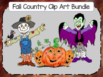Fall Country Clip Art