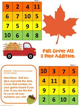 Fall Cover All -2 Dice Addition