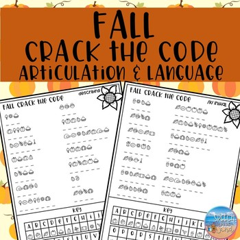 Fall Crack the Code: Articulation and Language