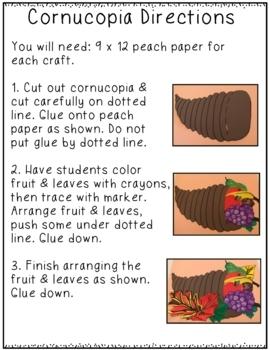 Thanksgiving Craft Pack