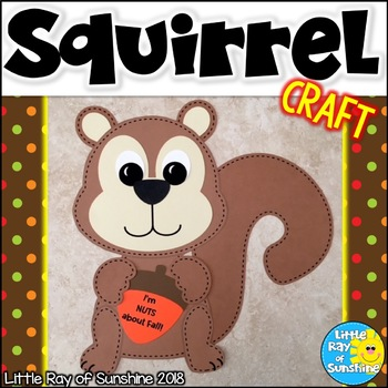 Fall Craft Squirrel