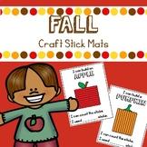 Fall Craft Stick Mats