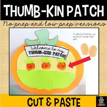 Fall Craft - Thumbkin Craft