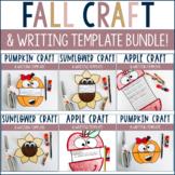 Fall Craft & Writing Template Bundle