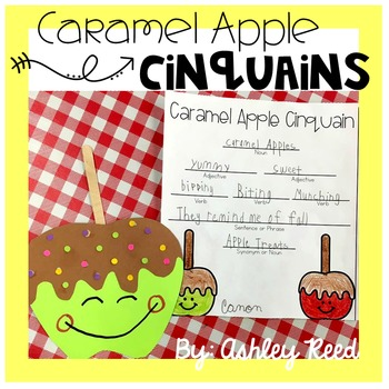 Fall Craft and Cinquain Poetry Writing