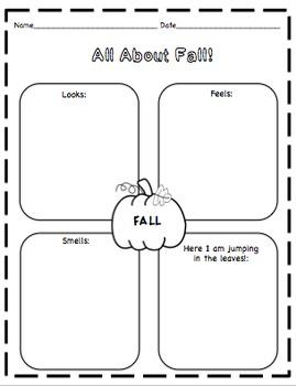 Fall Craftivity (Fall Kids)