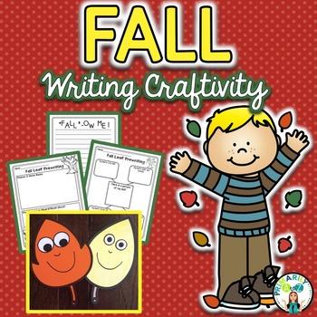 Fall Craftivity {If I Were a Fall Leaf...}
