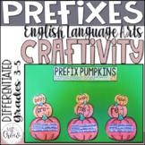 Fall Craftivity Pumpkin Prefixes