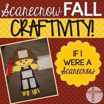 Fall Craftivity - Scarecrow Activity and Craft for Autumn