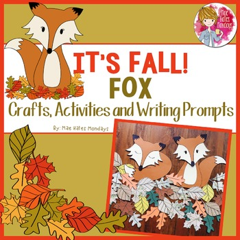 Fall Crafts, Activities and Writing Prompts - Fox