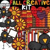 Fall Creative Kit {Fall Borders, Clipart, and Digital Paper}