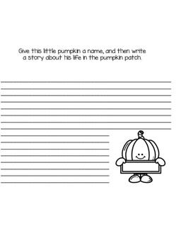Fall Creative Writing Book