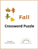 Fall Crossword Puzzle
